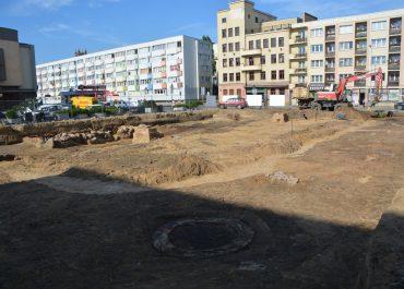 Stanowisko archeologiczne na działce budowlanej