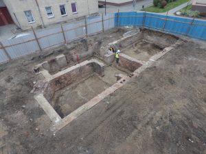 nadzór archeologiczny budowy